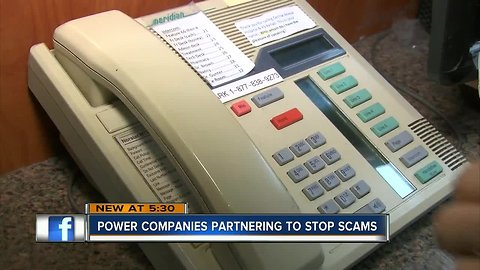 The phone system sounds just like your utility company — but it's a scam
