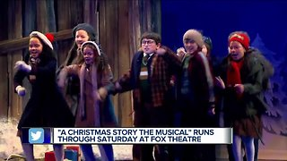 """A Christmas Story the Musical"" runs through Saturday at the Fox Theatre"