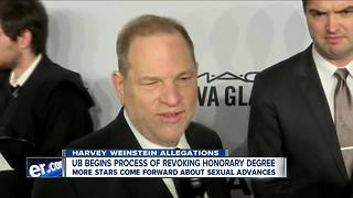 UB looking to revoke Harvey Weinstein's honorary degree - Video