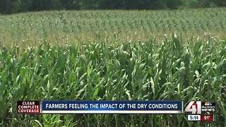 Drought conditions impacting Kansas farmers - Video