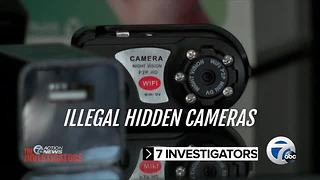 Tuesday at 6: Illegal hidden cameras - Video