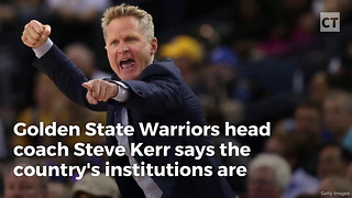 NBA Coach Turns Into Liberal Snowflake With Sick Attempt At Trashing Trump - Video