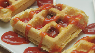 Corn Dog Waffles - Full Recipe - Video