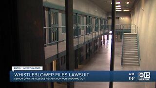 Whistleblower files lawsuit over retaliation