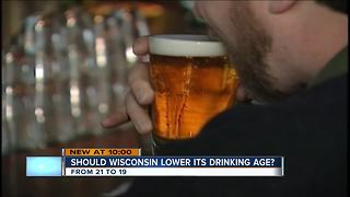 Residents split on proposal to raise Wisconsin drinking age to 19
