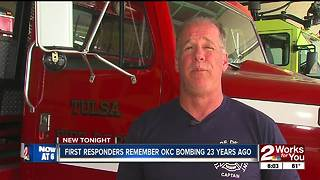 First responders remember OKC bombing 23 years ago - Video