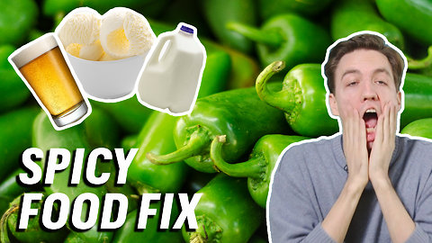 Taste Test: How to Cool Down a Spicy Mouth