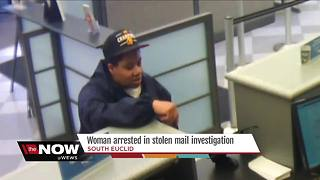 Woman arrested for taking check out of mailbox, stealing hundreds of dollars - Video
