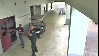 Broward County Sheriff's Office releases surveillance video outside Stoneman Douglas High School day of shooting (27 minutes)