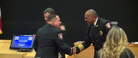 LVFR honors firefighters