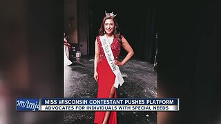 Miss Wisconsin contestant supporting those with special needs