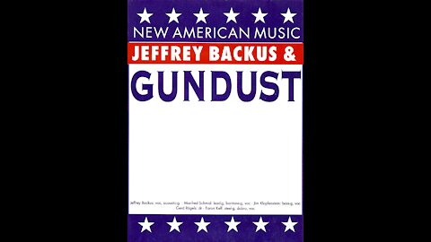 Jeffrey Backus & Gundust in 1995 - A.H.B.A. or American Honky Ton Bar Association (Cover)