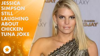 Jessica Simpson pokes fun at chicken-tuna blunder - Video