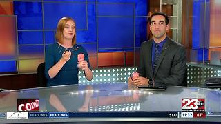National Ice Cream Day in at 23ABC - Video