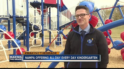 Nampa School District offering free, all-day, every day kindergarten