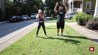 Quick Fix workout with Elissa the Mom | Rare Life