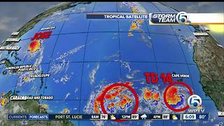 Friday morning tropical update: Jose shifts west toward Maryland - Video