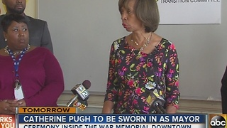 Catherine Pugh to be sworn in as Baltimore mayor