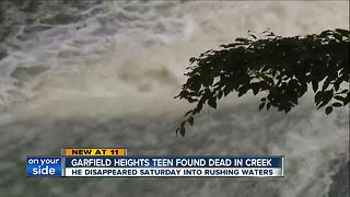 Garfield Heights teen found dead in creek - Video