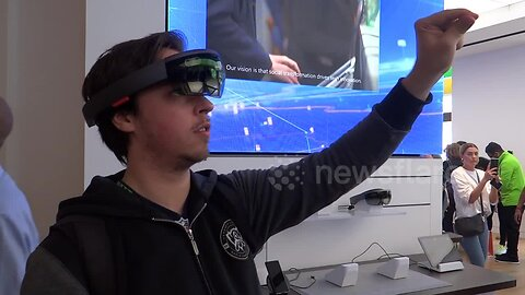 HoloLens tried out in London as Microsoft debut first European store