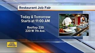 Tampa-based restaurant company hosting job fair to fill jobs at 3 new restaurant/bar concepts - Video
