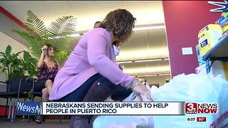 Nebraska for Puerto Rico helping after Maria - Video
