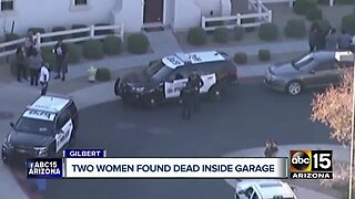 Investigation underway after two women found dead inside Gilbert garage