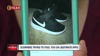 Scammers trying to fool consumers on legitimate apps - Video