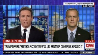 Chris Cuomo Jumps The Shark: Trump Doesn't Want Brown People Here