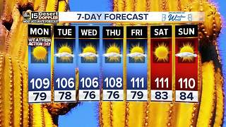 Excessive heat warning issued for the Valley