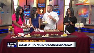 Celebrating National Cheesecake Day - Video
