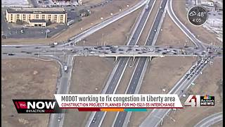 MoDOT invests $30M in Liberty interchange work - Video