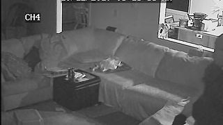VIDEO: Man robs mom while kids are asleep - Video