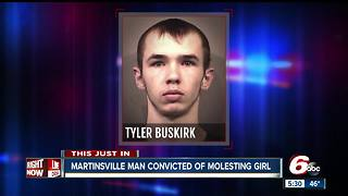 Johnson County man convicted of molesting 8-year-old girl