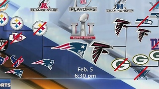 Super Bowl LI: Patriots vs. Falcons