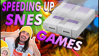 Making Super Nintendo Games FASTER! No Slow Down!
