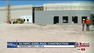 Fremont Family YMCA gets Olympic sized pool - Video