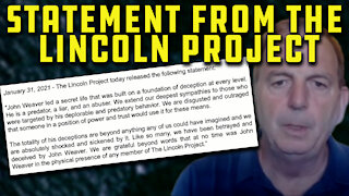 Mainstream Media Continues To NOT Discuss Disturbing Reports About Lincoln Project