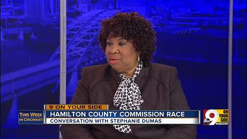 This Week in Cincinnati: Stephanie Dumas discusses the race for Hamilton County Commissioner (Part 1)