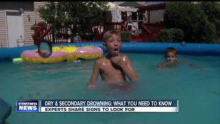 What to know about dry and secondary drowning - Video