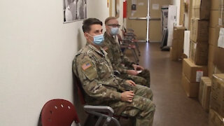 Arizona National Guard soldier's receive COVID-19 vaccination