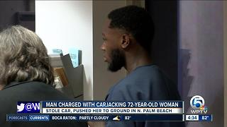 Miami-Dade man charged with carjacking woman in North Palm Beach - Video