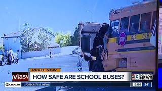 How safe are school buses in Las Vegas? - Video