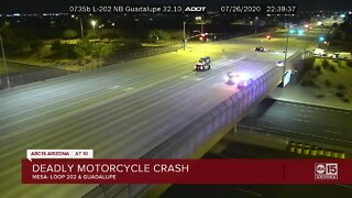 Deadly motorcycle crash shuts down popular Valley freeway
