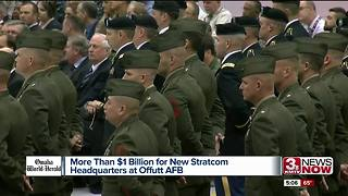 Offutt Air Force Base to receive $1 Billion - Video