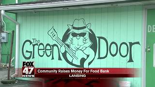 Lansing community raises money for food bank - Video