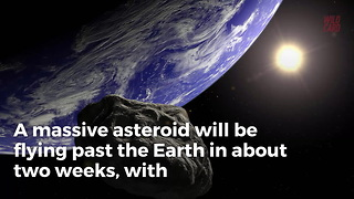 'Potentially Hazardous' Asteroid Hurling Toward Earth For Super Bowl LII - Video