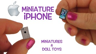How to make a miniature iPhone - Video