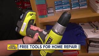 Clearwater Public Libraries offers free tools rentals for home repair via the Thingamabrary - Video