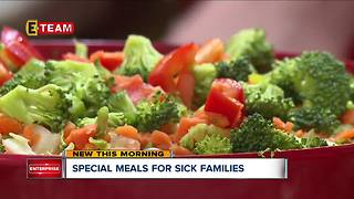 Volunteers and celebrity chefs work together to feed families in need at Ronald McDonald House - Video